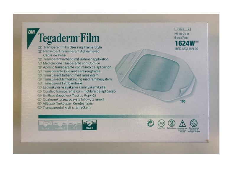 Tegaderm Transparent Film Dressing 6cm x 7cm