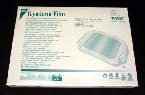 Tegaderm Transparent Film Dressing 10cm x 12cm