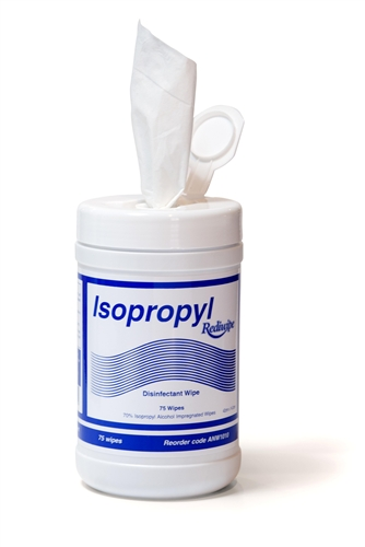 Isopropyl Rediwipe Dispenser Cannister