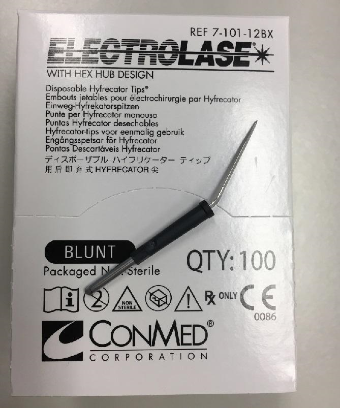 Conmed Electrolase Disposable Blunt
