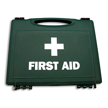 First Aid Case Plastic Medium