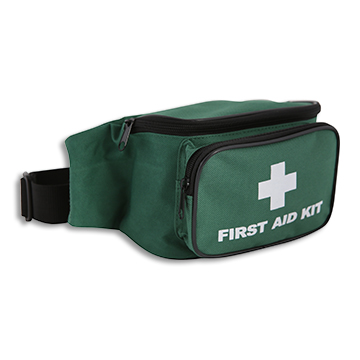 First Aid Bum Bag Green