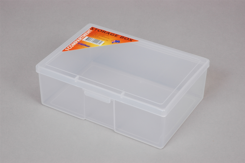 First Aid Box Small Clear Plastic
