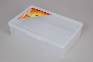First Aid Box Large Clear Plastic