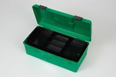 First Aid Box Medium Green Plastic