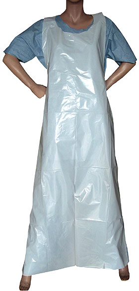 White Disposable Aprons 810mm x 1320mm