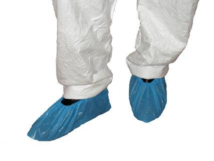 Theatre Overshoes Non-Skid Blue