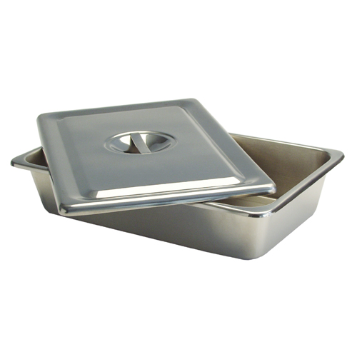 Stainless Steel Instrument Tray & Lid