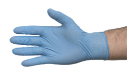 Nitrile Blue Gloves 2's