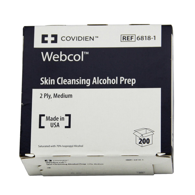 Webcol Alcohol Swabs 200