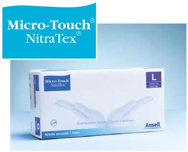 Ansell Micro-Touch NitraTex Gloves Medium P/F